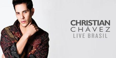 Christian Chávez - Recife - Meet & Greet em Dupla ingressos