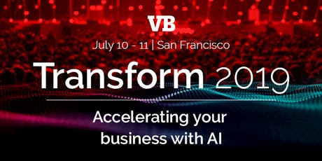 TRANSFORM 2019 - Accelerating Your Business With AI tickets