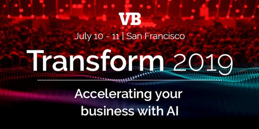 TRANSFORM 2019 - Accelerating Your Business With AI