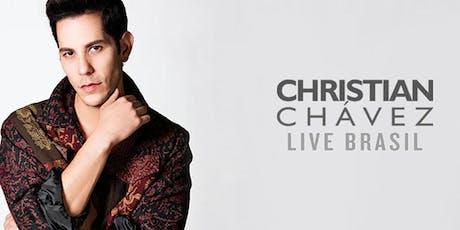 Christian Chávez - Fortaleza - Meet & Greet em Dupla ingressos