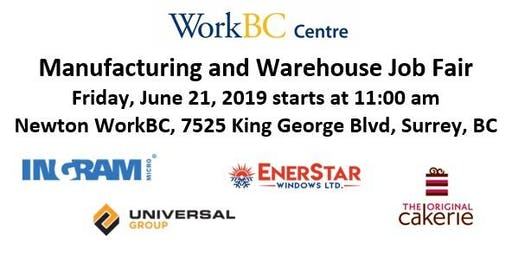 Manufacturing & Warehouse Job Fair