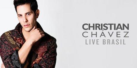 Christian Chávez - Rio de Janeiro - Meet & Greet em Dupla ingressos