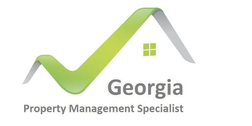 Georgia Property Management Certification - New laws, regulations, Landlord Tenant Laws - 12 HR CE Peachtree Corners 7/25, 7/26 Thursday & Friday