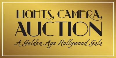 Lights, Camera, Auction! A Golden Age Hollywood Gala