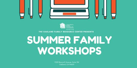 Summer Family Workshops tickets