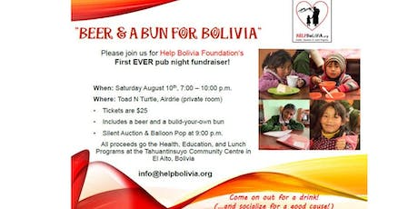 Beer & a Bun for Bolivia tickets
