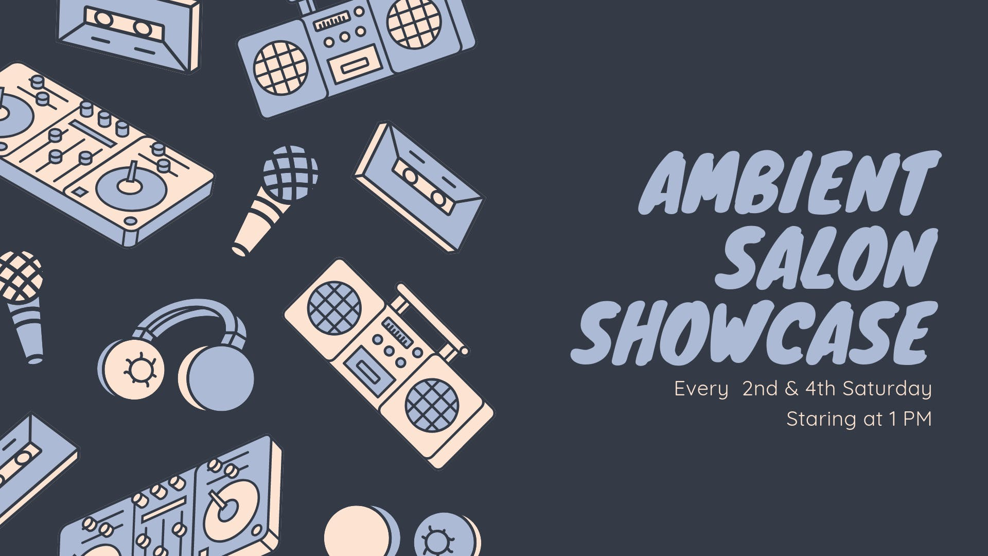 Ambient Salon Showcase banner