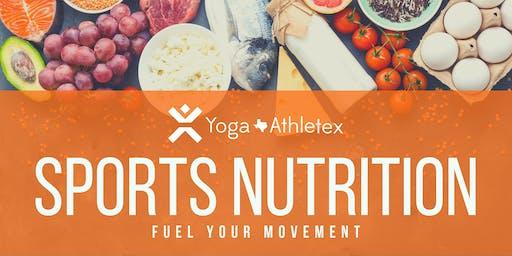 Sports Nutrition Playshop