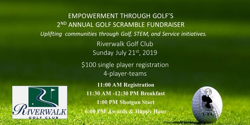 Empowerment Through Golf 2nd Annual Golf Scramble