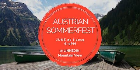 Austrian SommerFest 2019 tickets