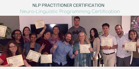 NLP Practitioner Certification | Neuro-Linguistic Programming & Life Coach tickets