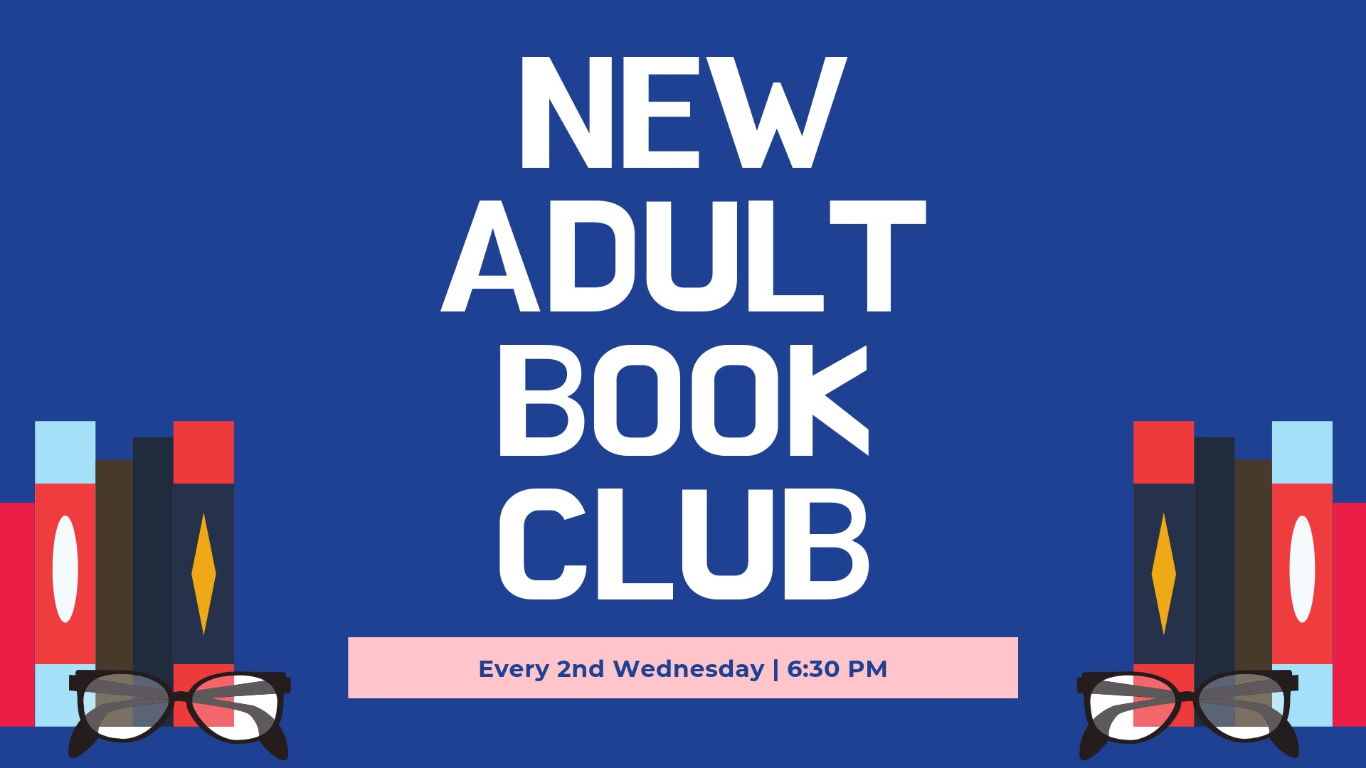 New Adult Book Club banner