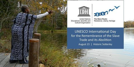 UNESCO International Day: Remembrance of the Slave Trade & Its Abolition tickets