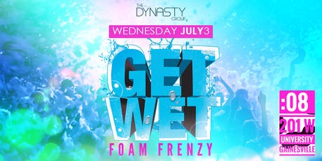 GET WET 2019 :: FOAM FRENZY tickets
