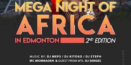 MEGA NIGHT OF AFRICA IN EDMONTON tickets
