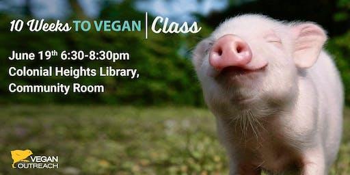 10 Weeks to Vegan Class