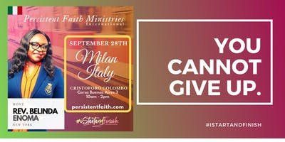 Milan Persistent Faith Conference