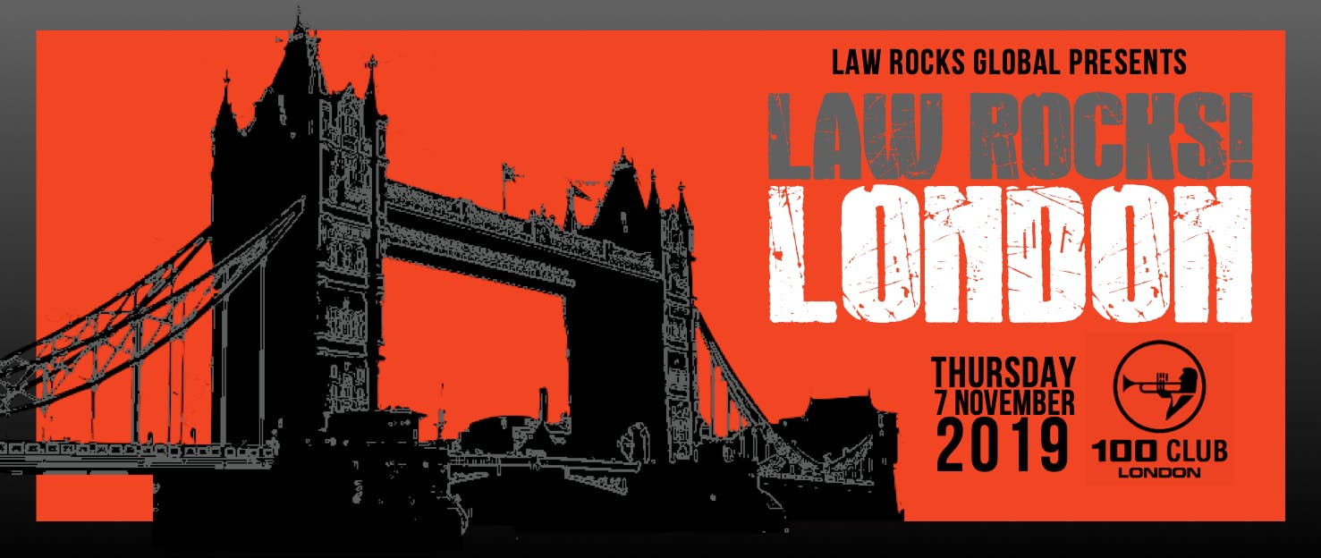 Law Rocks London - November 2019