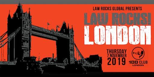 Law Rocks! London - November 2019