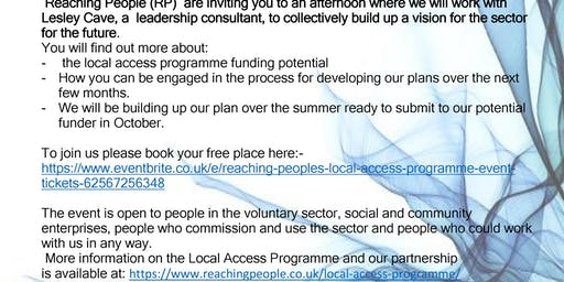 Reaching People's - LOCAL ACCESS PROGRAMME EVENT