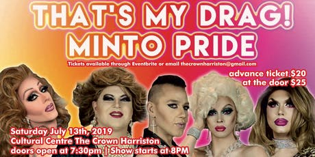 That's my Drag! Minto Pride tickets