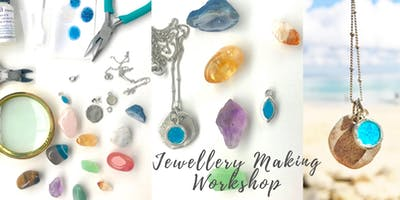 Jewellery Making Workshop - Create your own unique gemstone and necklace