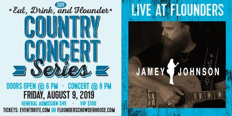 Jamey Johnson Live at Flounder's tickets