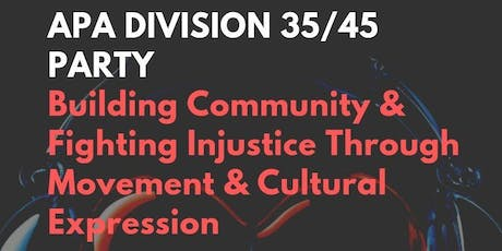 APA Division 35/45 Party tickets