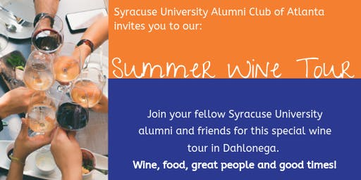 Syracuse University ATL Alumni Wine Tour