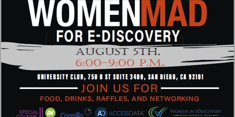 Women MAD for eDiscovery: 2nd Annual Charity Gala Supporting Girls in Tech tickets