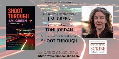 JM Green In Conversation with Toni Jordan tickets