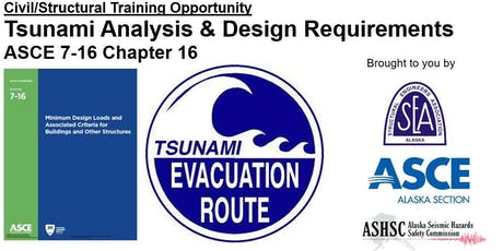 Tsunami Analysis & Design Requirements of ASCE 7-16 Chapter 6: Anchorage tickets