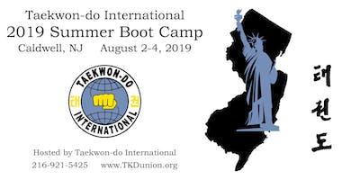 Taekwon-do International Summer Boot Camp 2019