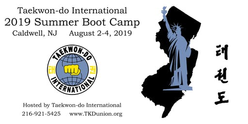 Taekwon-do International Summer Boot Camp 2019
