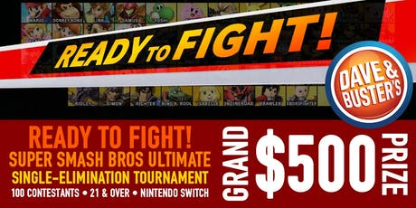 READY TO FIGHT! Super Smash Bros Ultimate Tournament - Hollywood, CA tickets