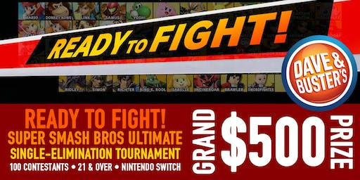 READY TO FIGHT! Super Smash Bros Ultimate Tournament - Hollywood, CA