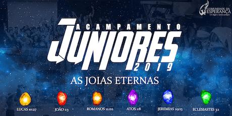 Acampamento Juniores Comunidade 2019 - As Joias Eternas! ingressos