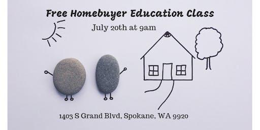 FREE Homebuyer Education Class