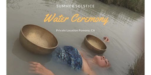 Summer Solstice Water Ceremony
