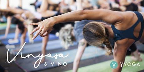 International Yoga Day - Vinyasa & Vino tickets