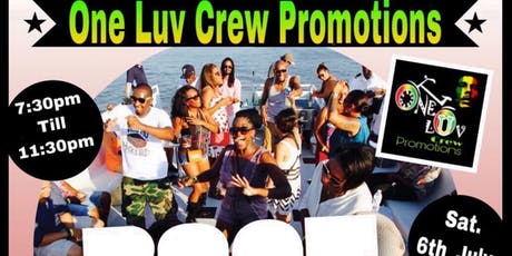 One Luv Promotions Boat Party tickets