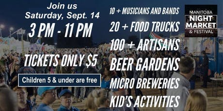 Manitoba Night Market & Festival tickets