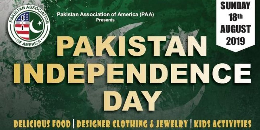 Pakistan Independence Day 2019 Celebration Tickets, Sun, Aug 18