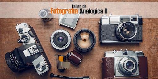 TALLER DE FOTOGRAFIA ANALOGICA II