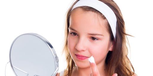 Fresh faced make-up and skin care for teens