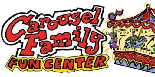 Family fun  for Dana Farber at Carousel Skate!