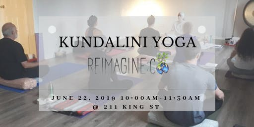 Community Kundalini Yoga at Reimagine Co June 22nd 10:00 AM