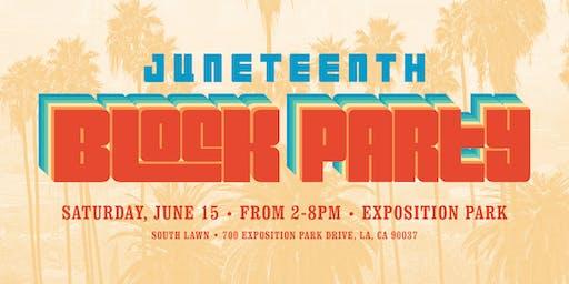 SEIU Local 721 Juneteenth BLOCK PARTY