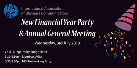 IABC Queensland New Financial Year Party & Annual General Meeting  tickets