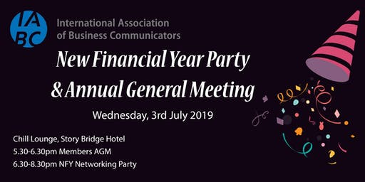 IABC Queensland New Financial Year Party & Annual General Meeting